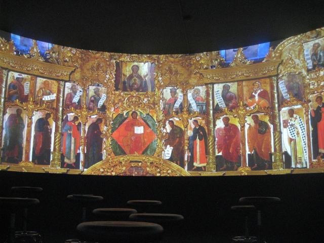 В Новгородском музее-заповеднике состоялась презентация нового панорамного фильма
